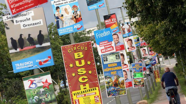 Der Irrsinn der Partei-Plakate